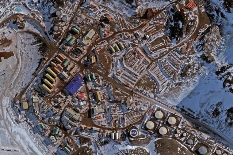 IMAGE: McMurdo Station in Antarctica