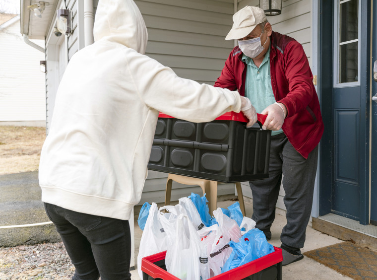 Image: Helping seniors