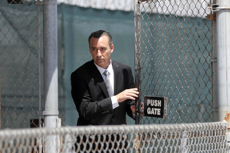 Image: Tony Spell, pastor of the Life Tabernacle Church in Louisiana, leaves the East Baton Rouge Parish jail on April 21, 2020.