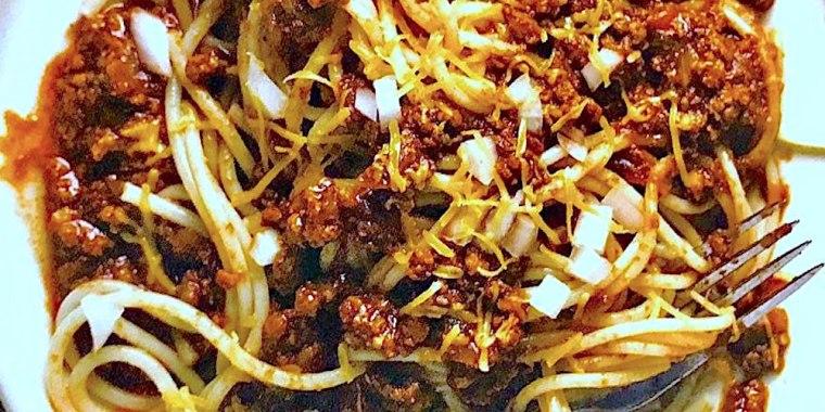 Cincinnati-Style Spaghetti Chili
