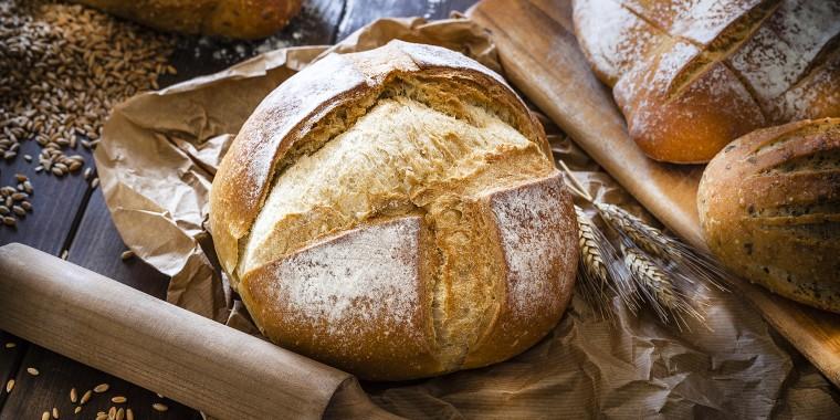 Loaf of bread still life