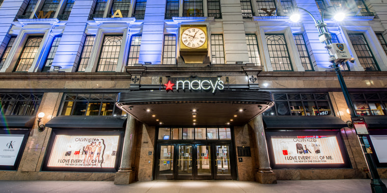 All Macy's stores have been closed since March 18.