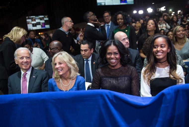 Image: Joe Biden Michelle Obama