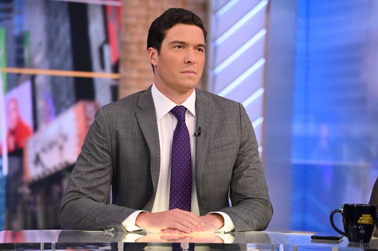 """Will Reeve on \""""Good Morning America.\"""""""