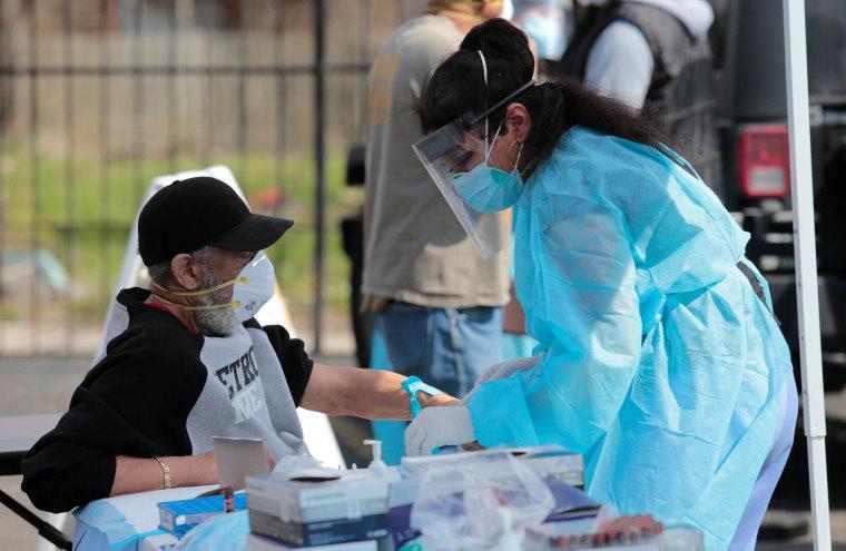 Image: The coronavirus disease (COVID-19) outbreak in Detroit