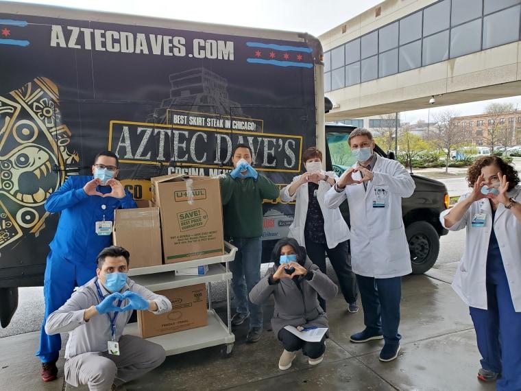 Image: Aztec Dave's food truck