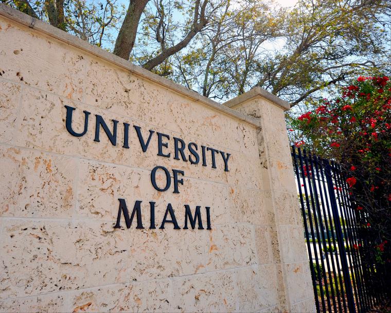 Image: University of Miami