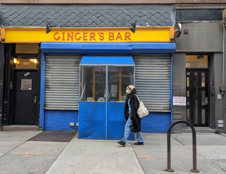 In compliance with citywide guidelines for nonessential businesses, Ginger's Bar closed on March 15, two days before St. Patrick's Day and what would have been the bar's 20th anniversary.