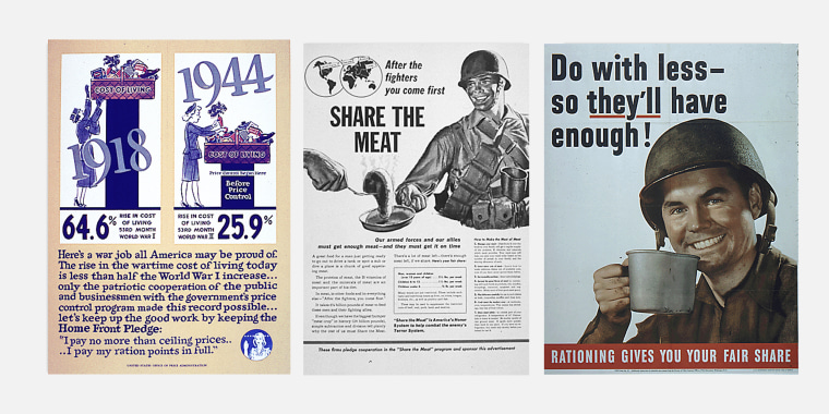 World War II rationing posters