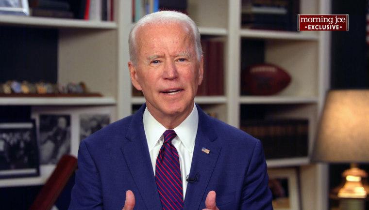Image: Joe Biden Morning Joe