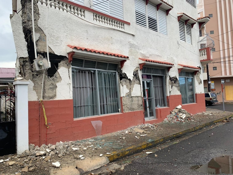 Image: Puerto Rico earthquake
