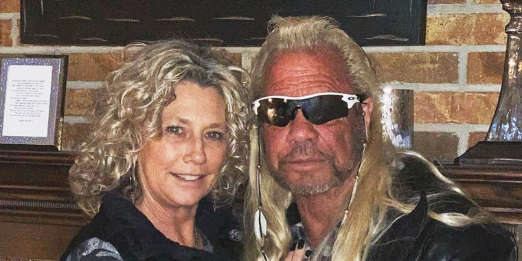 Francie Frane and Duane Chapman started dating last year.