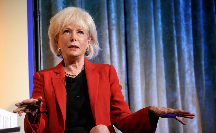 Image: Lesley Stahl speaks during an interview in New York on Oct. 10, 2019.