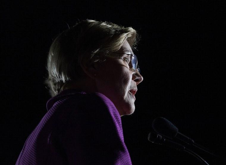 Image:  Sen. Elizabeth Warren, D-Mass.