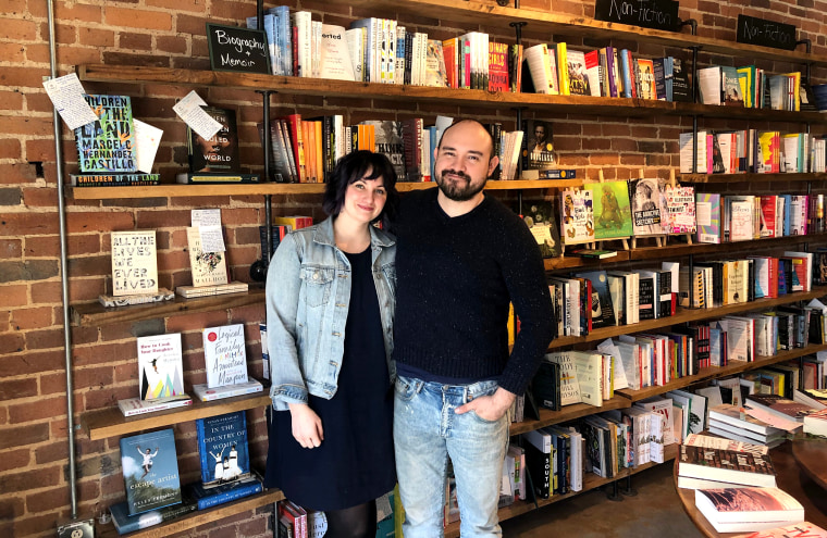 Jaime and Miranda Sanchez are the owners of Epilogue Books Chocolate Brews in North Carolina.