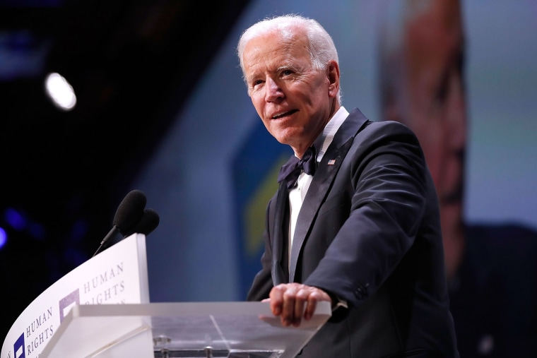 Image: Former Vice President Joe Biden headlines the 22nd annual Human Rights Campaign National Dinner at the Walter E. Washington Convention Center