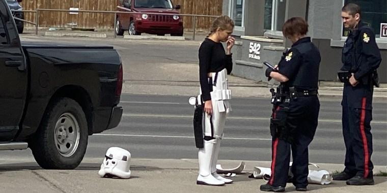Image: Stromtrooper arrest