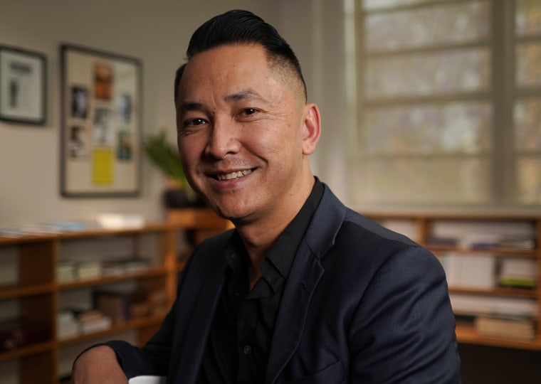"Pulitzer Prize winning author Viet Thanh Ngugyen in PBS' ""Asian Americans."""