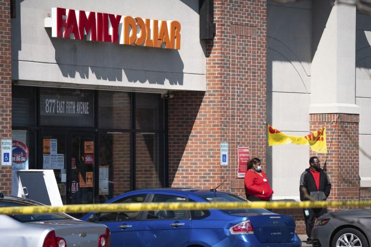 Image: Family Dollar store shooting