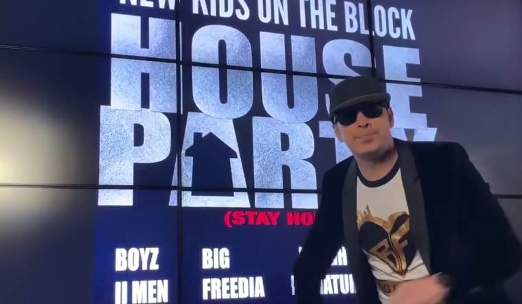 """Image: New Kids on the Block \""""House Party\"""" song"""
