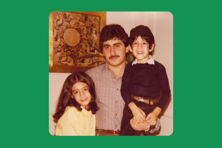 With Uncle Johnny and my brother when he visited us in New York.