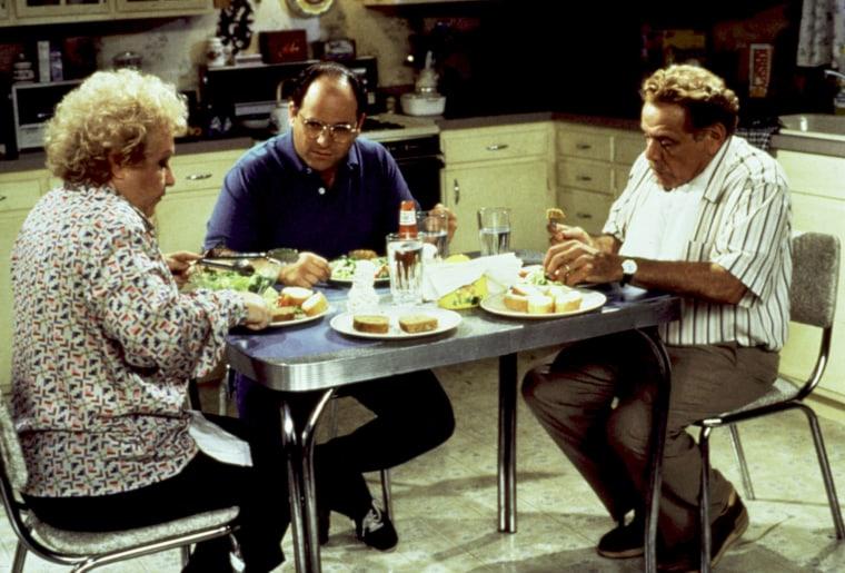 SEINFELD, Estelle Harris, Jason Alexander, Jerry Stiller, 1990-1998