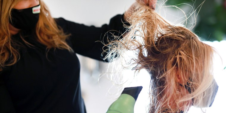 Hair Salons Are Back in Business As Texas Continues To Re-Open Businesses