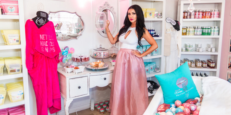 Heather Marianna of Beauty Kitchen in Boulder City, Nevada, is restructuring certain parts of her business as she reopens to customers.
