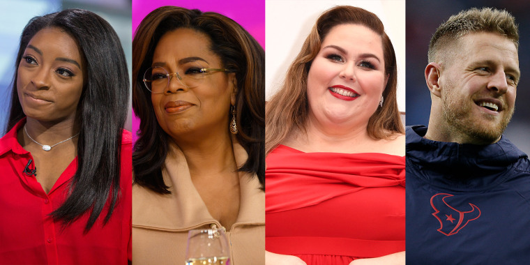 Oprah Winfrey, Chrissy Metz, J.J. Watt and Simone Biles are just a few of the celebs slated to appear in the live-stream event on Facebook.