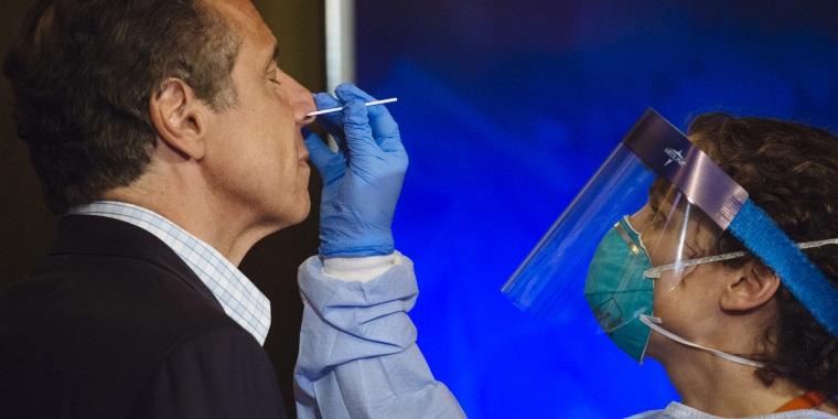 New York Governor Cuomo Holds Coronavirus Briefing
