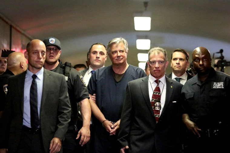 Image: Paul Manafort arrives to his arraignment in Manhattan Supreme Court on June 27, 2019.