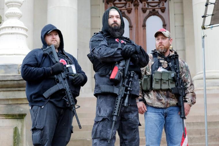 Image: Lansing Michigan protest
