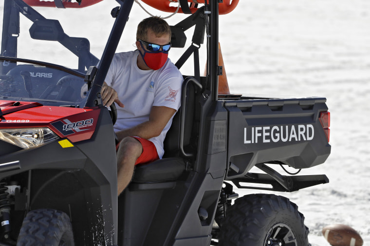 Image: Clearwater Beach Lifeguard