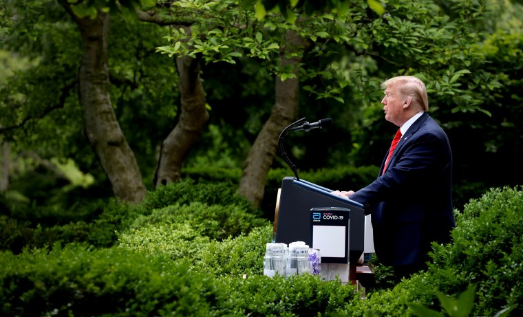 President Trump Holds Press Briefing On Virus Testing