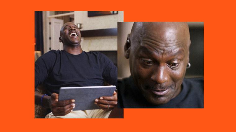 Image: Michael Jordan: legendary basketball star, Meme Hall of Famer.