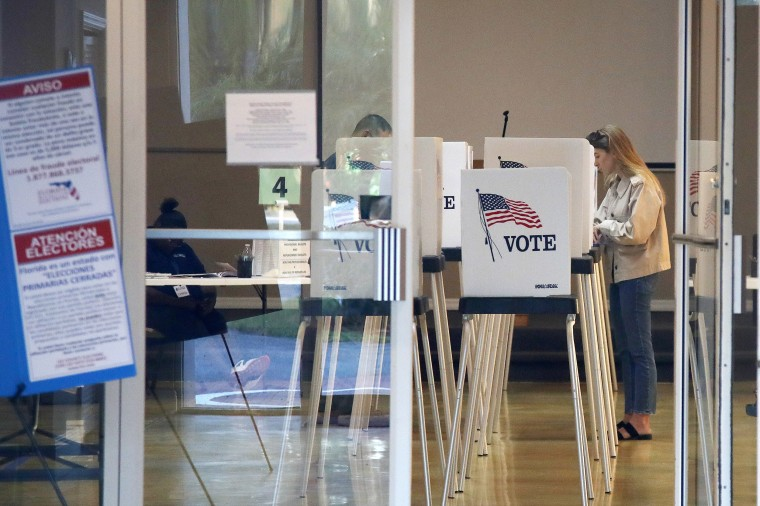 Image: Florida polling station