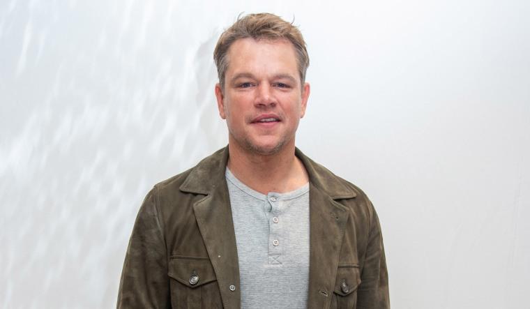 In a quiet Irish seaside town, Matt Damon is on lockdown