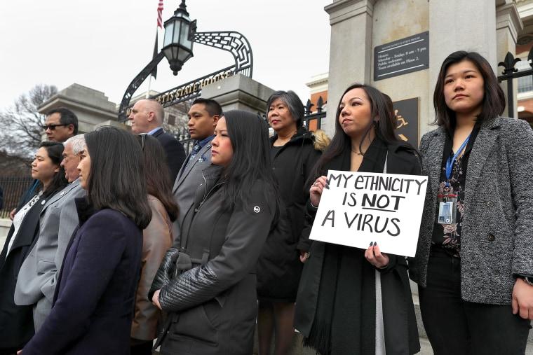 Asian-Americans Condemn Racism