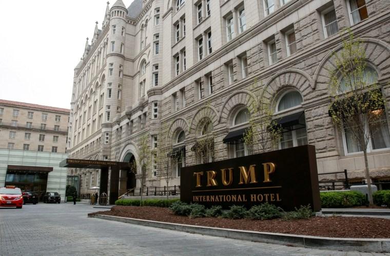 Image: The Trump International Hotel in Washington