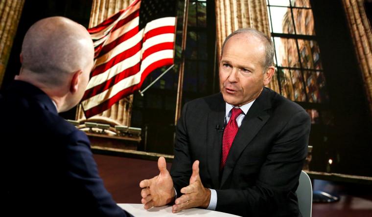 Blackstone Group LP Head Of Private Equity Portfolio Operations Dave Calhoun Interview