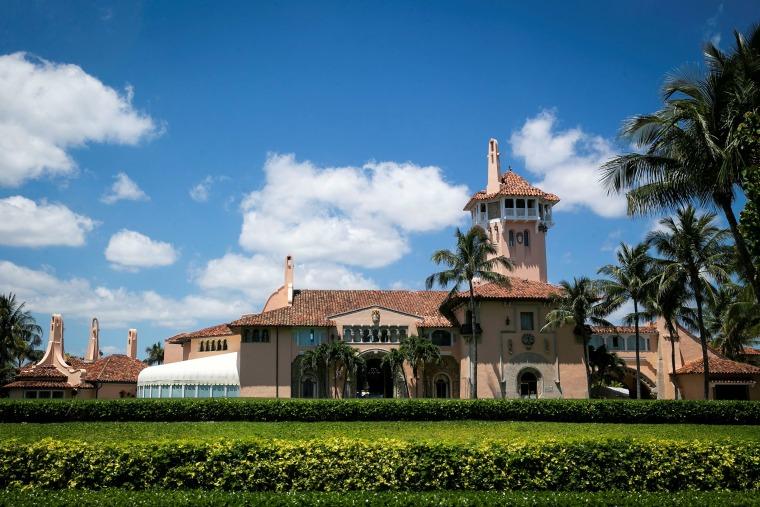 Image: The Mar-a-Lago club in Palm Beach, Florida.