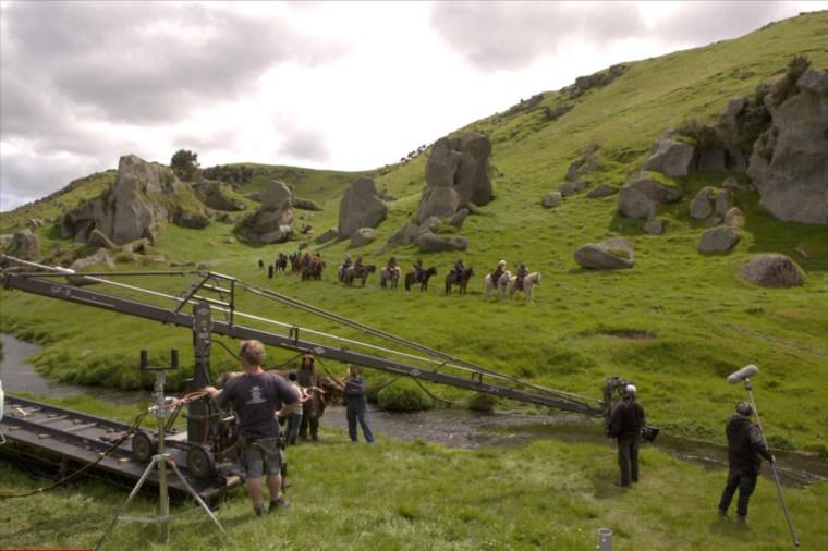 Image: Hobbit movie behind the scenes