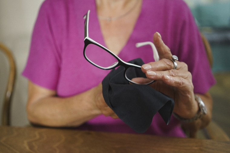 Touching glasses can potentially spread germs so cleaning them throughout the day — especially during a pandemic — would be ideal, Dr. Barbara Horn told TODAY.