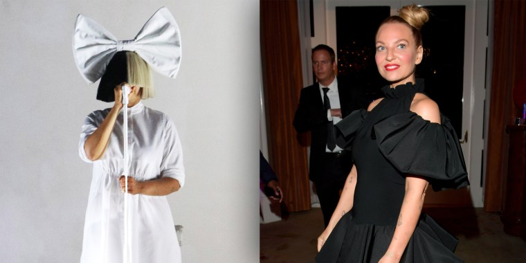The pop star, whose full name is Sia Kate Isobelle Furler, goes by her stage name, Sia, and is known for wearing wigs that hide her face during performances.