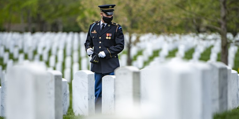 Modified military funeral honors at Arlington National Cemetery