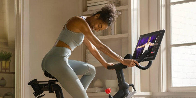 Peloton bikes have allowed users to experience a group-like fitness class at home, while gyms and fitness studios are closed during the coronavirus pandemic.