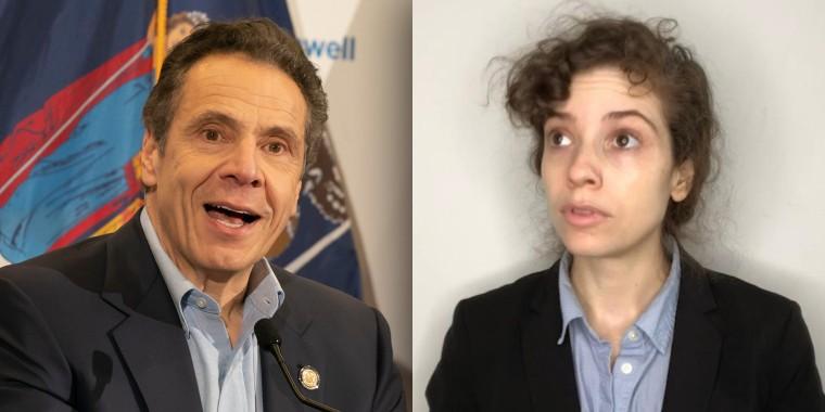 Gov. Andrew Cuomo and Maria DeCotis