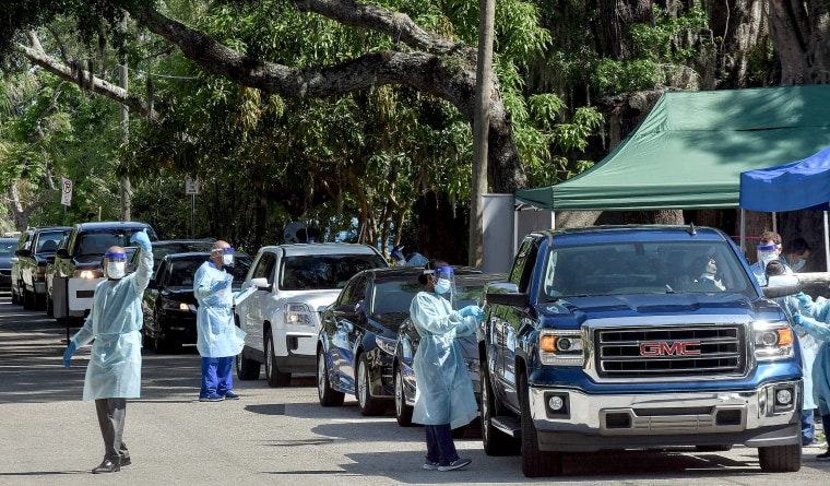 COVID-19 Testing Begins in Historic Black Neighborhoods in Altamonte Springs, US