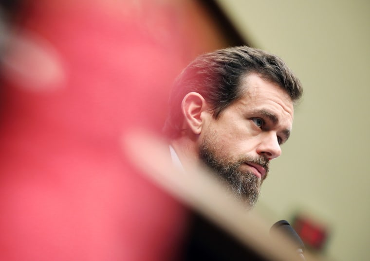 Twitter CEO Jack Dorsey testifies before the House Energy and Commerce Committee on Capitol Hill in Washington