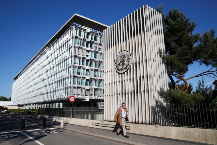Image: Headquarters of the World Health Organization